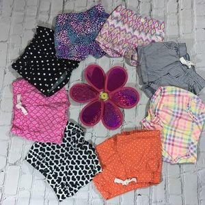Bundle of 18 months shorts